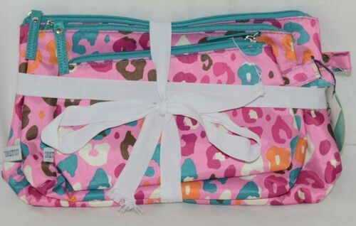 Room It Up Three Piece Cosmetic Toiletries Bags Small Medium Large