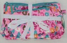 Room It Up Three Piece Cosmetic Toiletries Bags Small Medium Large image 1