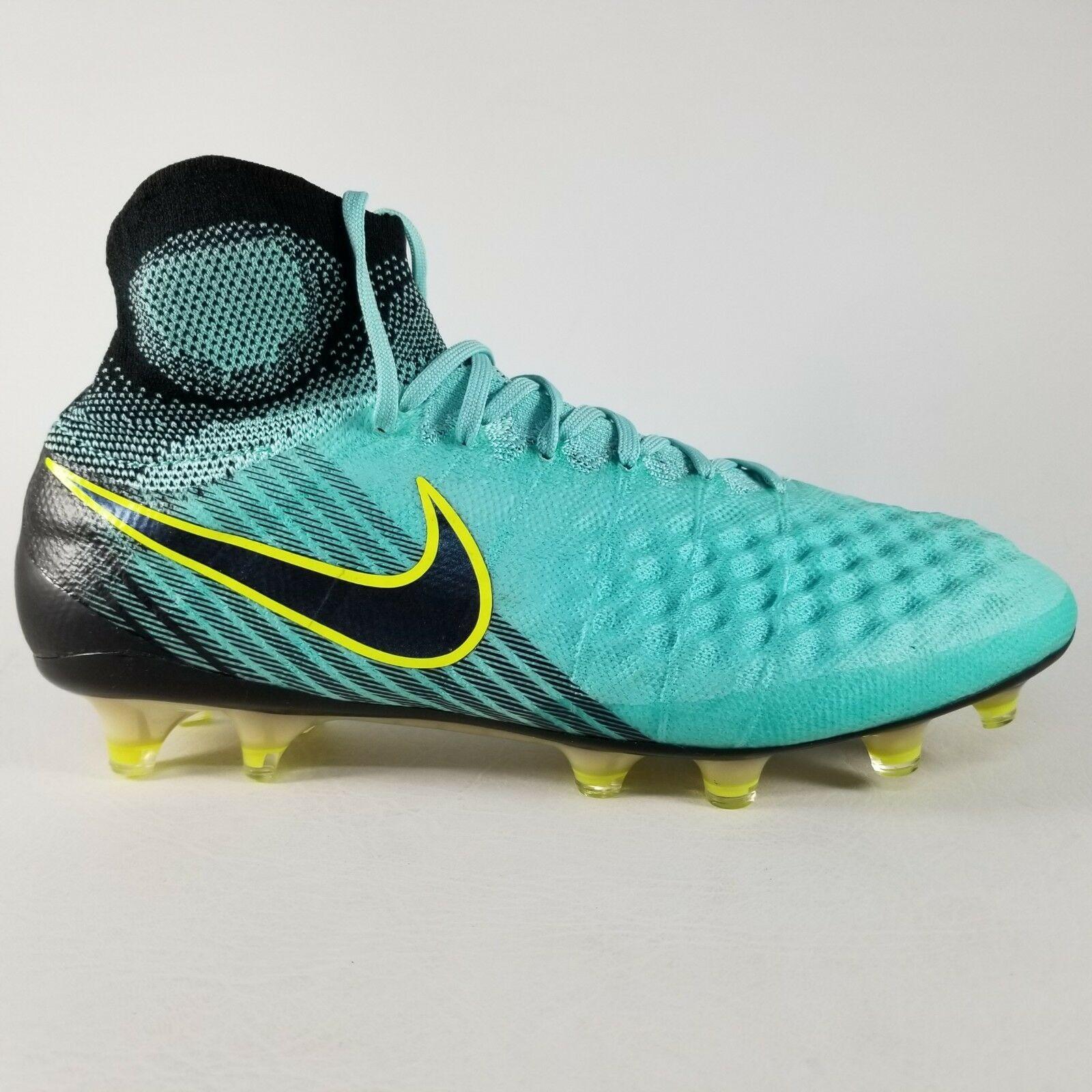 95a0328b48d Nike Magista Obra II 2 FG Soccer Cleats SZ 10 Womens Boots Green Black Mens  8.5