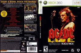 Microsoft Xbox 360 AC/Dc Live: Rock Band Pista Pack Video Gioco Download Codice