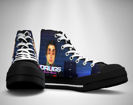 Falling In Reverse drugs Canvas Sneakers Shoes - $29.99
