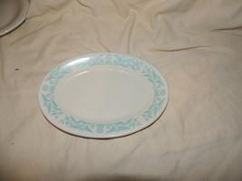 Vintage Homer Laughlin Restaurant Ware - 5 small plates - Green Stripe - $18.65