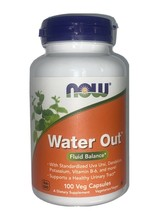 Now Water Out Fluid Balance Dietary Supplement - 100 Capsules - $14.99