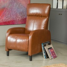 Luxurious Recliner Chair Bonded Leather Modern Seating Living Room Furni... - $299.00