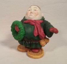 DEPT 56 MERRY MAKER MONK SIGMUND THE SNOWSHOER CHRISTMAS FIGURINE - $29.69