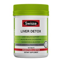 Swisse Ultiboost Liver Detox | Supports Liver Health & Function | Provides Relie