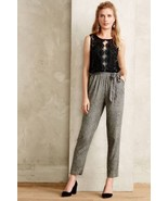 NWT ANTHROPOLOGIE LACE MEDLEY JUMPSUIT by ELEVENSES 4, 6, 8 - $94.99