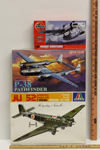 1:72 Scale WW2 Aircraft Model Kits Vought Kingfisher P-38 Pathfinder Jun... - $35.73