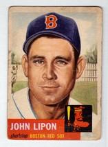 1953 Topps #40 John Lipon Boston Red Sox VG condition $30 BV - $5.36