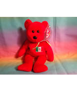 "1999 Ty Beanie Baby Osito Red Mexican Bean Bag Plush Bear w/ Hang Tag 8"" - $2.92"
