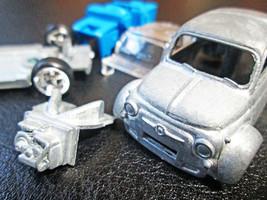 Rare MATTEL CAR CULTURE FIAT 500 Unspan Prototype 2016 - $1,484.97