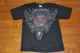 Lamb of god rare skeleton concert tour T shirt Medium M - $13.99