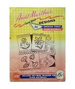 Floral Motifs Aunt Marthas 3588 Vintage Hot Iron Transfer Gingham Checks... - $7.99