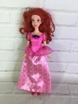 Mattel Disney Princess The Little Mermaid Ariel Doll With Pink Dress - $17.81