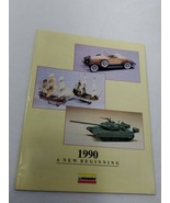 VTG 1990 Lindberg Catalog plastic Model Kits 27 color pages (A16) - $14.85