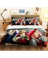 3D Straw Hat kid P54 Japan Anime Bed Pillowcases Quilt Duvet Cover Acmy - $50.46+