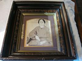 SUPERB Civil War era ca 1860s Pencil Drawing - Woman In Period Dress - $198.00