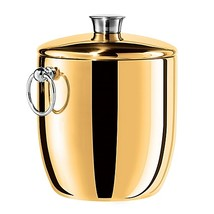 Oggi Stainless Steel Insulated Ice Bucket in Gold - $49.99