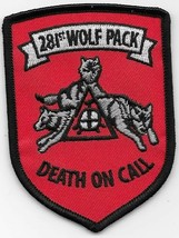 US Army SF 281st Wolf Pack 3rd Platoon Assault Helicopter Co Patch - $11.87
