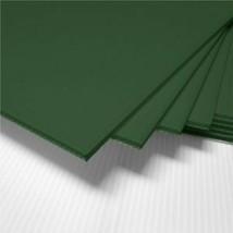 "4 Pack 4mm Green 24"" x 48"" Vertical Corrugated Plastic Coroplast Sheets ... - $31.81"