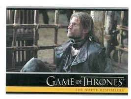 Game of Thrones trading card #02 2013 Jaime Lannister - $3.00