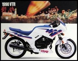 1990 Honda Motorcycle VTR Sales Brochure - $14.24