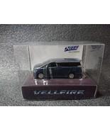 TOYOTA VELLFIRE LED Light Keychain Grayish Blue Mica Metallic Mini Car J... - $25.90