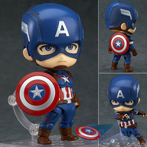 4''/10cm Captain America PVC Figure Action Toy Model Cosplay Collections... - $22.00
