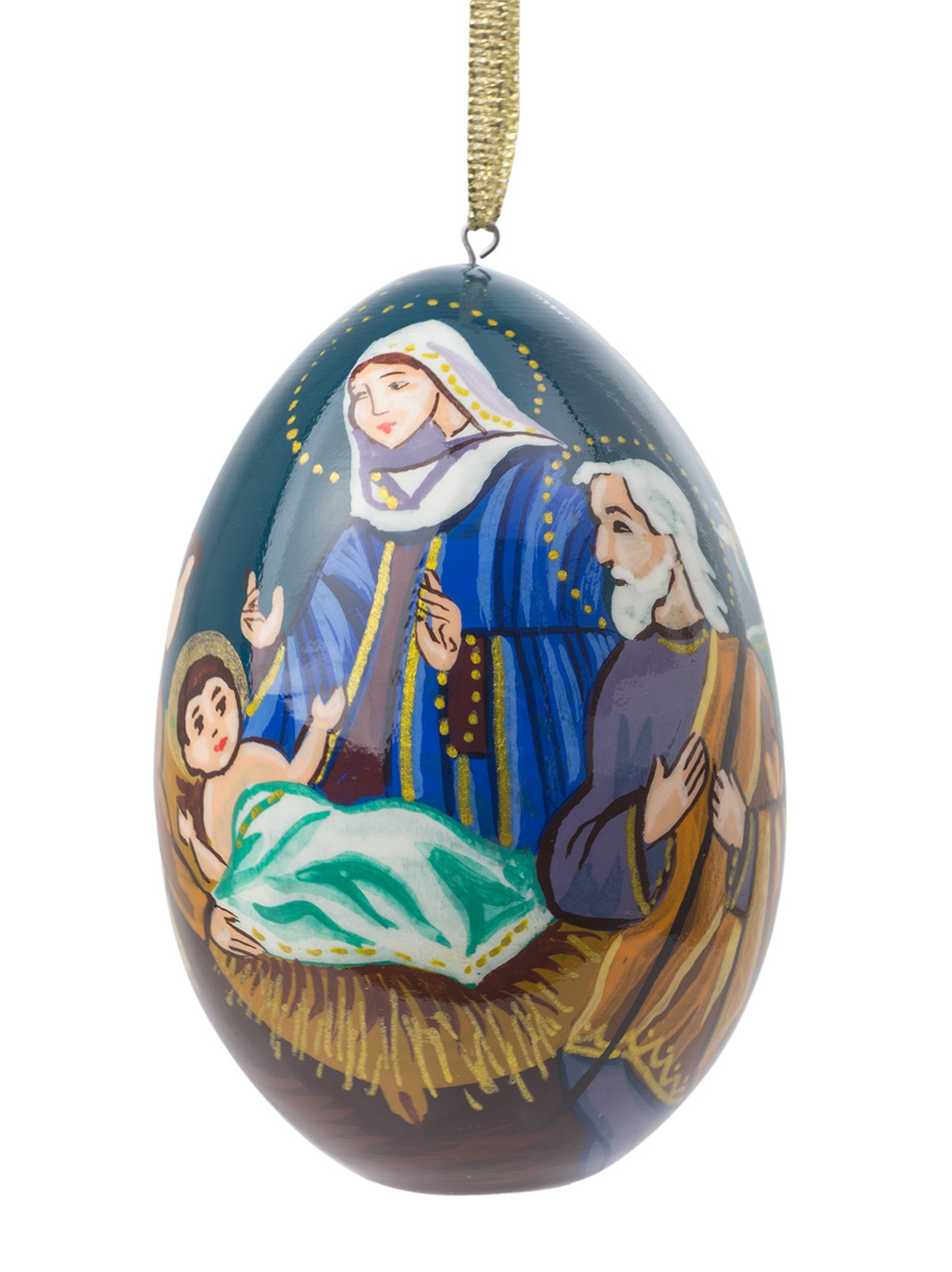 Nativity Ornament - Western Style - 3""