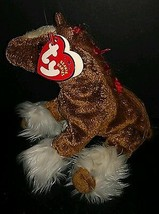 Ty Beanie Baby 2001 Mint w/Tags Hoofer The Clydesdale Horse Grants Farm Retired - $9.89