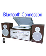 Boytone BT-28SPS, Bluetooth Classic Style Record Player Turntable with A... - $184.73