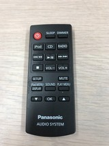 Panasonic N2QAYC000058 Audio System Remote Control Tested And Cleaned         M4