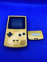 Authentic! Nintendo Game Boy Color Handheld System - Dandelion Yellow - Tested! - $73.31