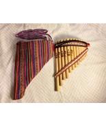 Handmade Peruvian Curve Chill Pan Flute 13 Pipe Professional Native+Case... - $38.61