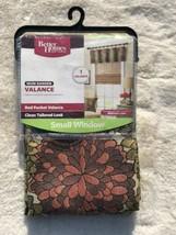 """Better Homes & Gardens MUM GARDEN Valance, New, 54"""" X 16"""" - $19.75"""