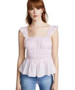 Free People Beautiful Fleurs Blouse Lilac Size XS - $54.99