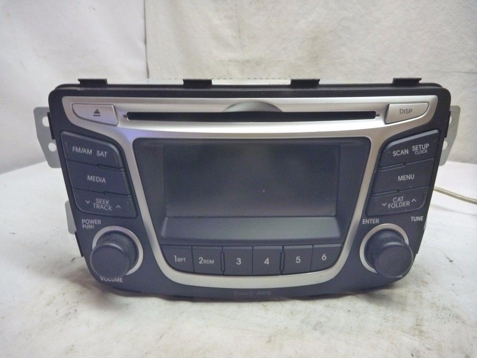 12 13 14 Hyundai Accent Radio Cd SAT Media Player 96170-1R1104X WY626