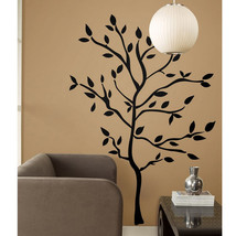 NEW RoomMates XL Giant 60 Wall Decals Black Tree Branches Leaves Mural Stickers - $29.99