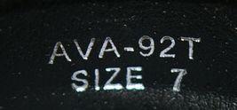 I Love Yo Kids AVA 92T Girls Fringe Boot Black Zip Up Size Seven image 8