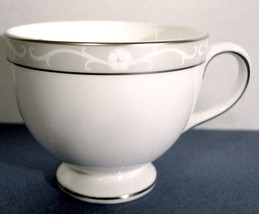 Wedgwood Icing Tea Cup Platinum Rimmed Made in U.K New - $9.99