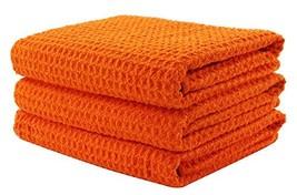 "Aniease Dish Drying Towels, Microfiber Kitchen Towel Super (16""x24"" Orange) - $20.80"