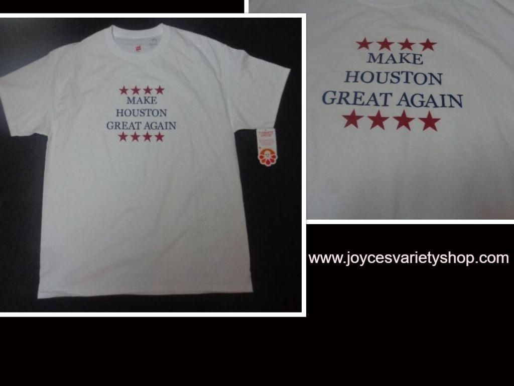 Make houston great web tshirt collage