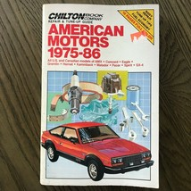 American Motors 1975-1986  Repair Manual, Service, Maintenance. Chilton ... - $10.84