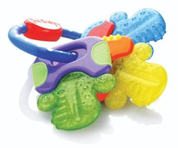 Nuby Ice Gel Teether Keys 1 pack Multi Color - $17.99