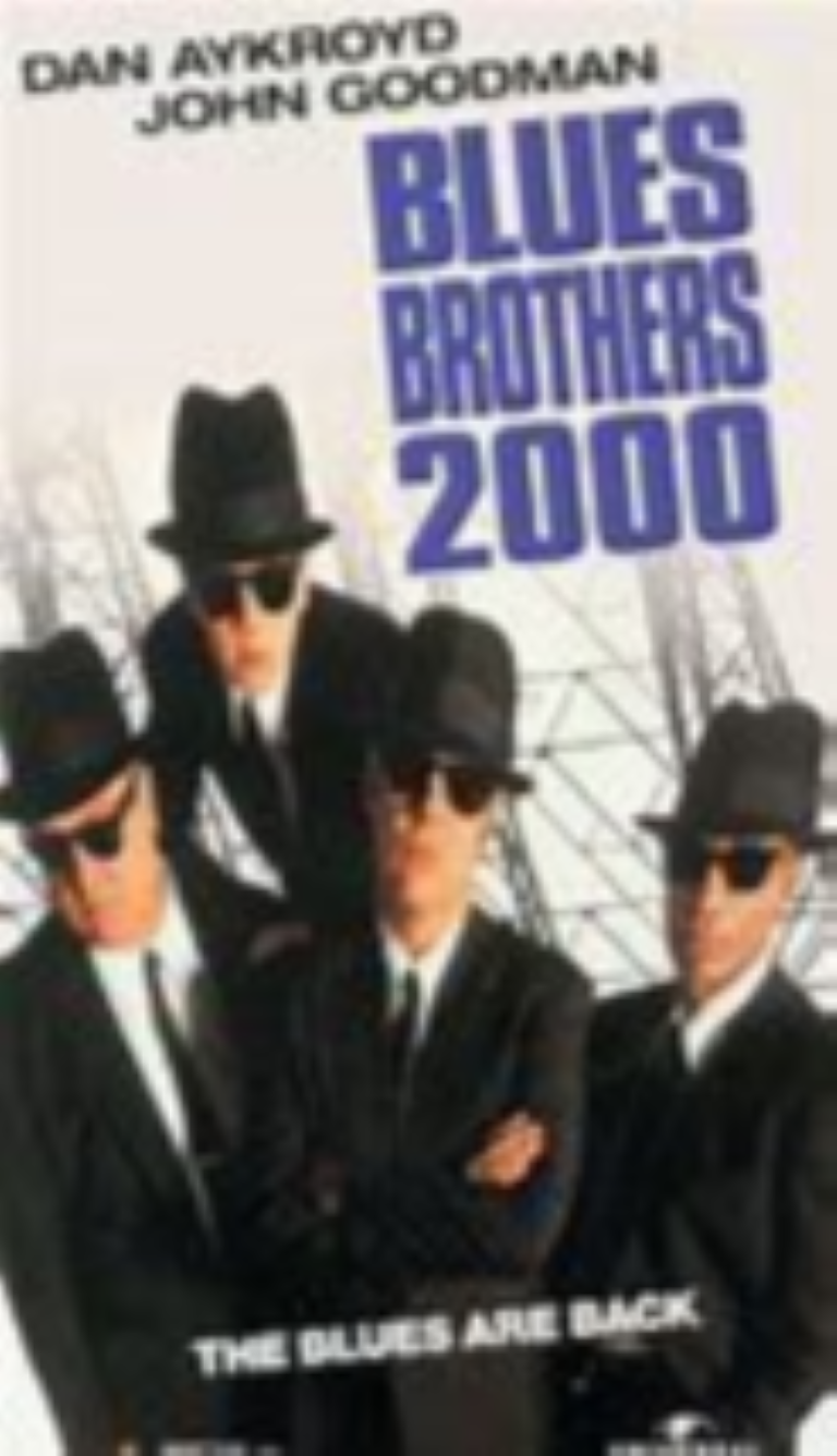 Blues Brothers 2000 Vhs