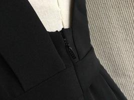 100% AUTHENTIC LOEWE LONG BLACK SLEEVELESS EVENING DRESS  image 8