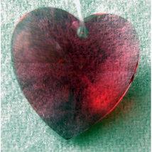 20mm Crystal Heart Hair Jewel image 3
