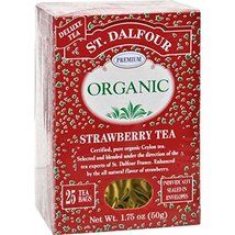 St. Dalfour Organic Tea - Strawberry - 25 ct - $6.28
