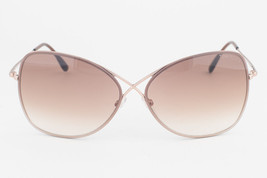 Tom Ford Colette Rose Gold / Brown Gradient Sunglasses TF250 28F - $195.02