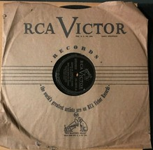 """Collins and Harlan-Down in Jungle Town/Victor records  10"""" 78 RPM Record... - $17.82"""